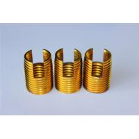 China high quality and hot sales Customied self tapping threaded insert M3 M4 M5 M6 M8 M10 Brass inserts on sale
