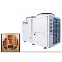 China 42KW Indoor Sauna Rooms For Home Swimming Pool Heat Pump With R410A / R417A Constant Temperature 38℃ on sale