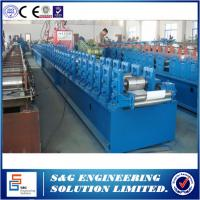 Best High Efficiency 37mm Shutter Making Machine , 7.5KW PU Roller Shutter Door Machine wholesale