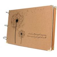 Best Scrapbook Vintage Photo Albums Dandelion Printed Surface Ideal Valentines Day Gifts wholesale