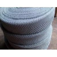 China 316 Stainless Steel Knitted Wire Mesh Plain Weave Filter Strainers Demister Pad on sale