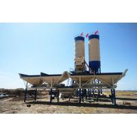 China HZS35 Electric Power Portable Stationary Concrete Batch Mix Plant with One Year Warranty on sale