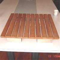 China Teak wood shower mats on sale
