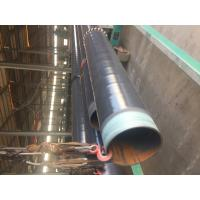 Best DN 500 ASTM A106 Coated Steel Pipe CSA Z245.21 3L PE Coating Bevelled End wholesale