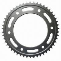 China Chain Sprocket for Motorcycle, OEM Orders are Welcome on sale