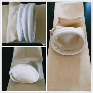Best Asphalt Plant Baghouse Nomex Dust Filtration Bags / Dust Removal Air Filter Bag wholesale
