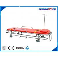 China BM-E3010 Medical Hospital Equipment Aluminum Alloy Folding Ambulance Stretcher on sale