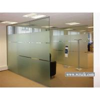 Best Sheets Of Toughened Modular Office Partitions With Straight Glass Panels ,Sound Privacy wholesale