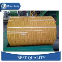 Best Wood Grain Aluminium Coated Sheet Interior Decorating For Gutter Coil wholesale