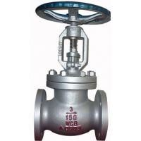 Buy cheap Bolted Bonnet Ansi Standard Cast Steel Flanged Globe Valve With Hand Operated from wholesalers