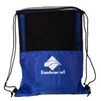 Best Cheap Promotional Mesh Polyester Football Drawstring Bag-HAD14018 wholesale