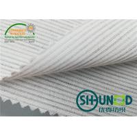 Best Smooth Canvas Interlining For Tailoring Materials / Men Suits Fusible Interlining Fabric wholesale