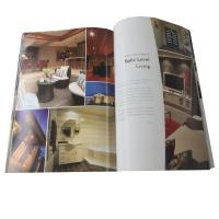 Best Full Color A4 Brochure Printing Paper Back Cover Guide Book Foil Stamping wholesale