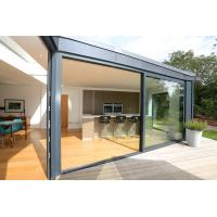 Best RAL Color Aluminium Sliding Glass Doors With Fly Screen PVDF Surface Finishing wholesale