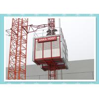 Best Passenger / Construction Materials Building Hoist Elevator With Frequency Control System wholesale