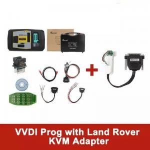 China Original V4.9.1 Xhorse VVDI PROG Programmer with Land Rover KVM Adapter without Soldering on sale