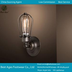 MODERN VINTAGE INDUSTRIAL LOFT METAL GLASS RUSTIC SCONCE WALL LIGHT WALL LAMP