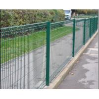 China Welded Wire Mesh Chain Link Fence Hot Galvanized Pvc Coated Steel Material on sale