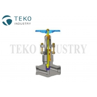 Buy cheap F51 Material High Pressure Globe Valve For Super Heat Steam from wholesalers