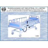 Best Three Function Electric Hospital Bed Adjustable Height With CPR Linak Motor wholesale