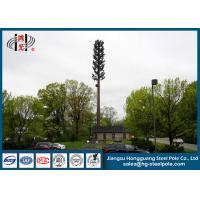 Buy cheap 30m Steel Disguised Pine Tree Telecommunication Towers Polygonal Galvanized from wholesalers