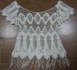 Best fashion water-soluble crochet lace trim garment wholesale