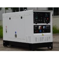 China Oil Gas Pipeline 450A DC Welder Genset Diesel Generator 15kva With Welding Electrode 7.0mm on sale