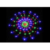 Best Multicolor Spider Web String Lights 8 Modes 1.2m Plug And Play 220 Volt Power wholesale