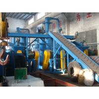 Best Eco Friendly Waste Tyre Recycling Machine For Crushing Rubber / Tyre 500Kg/H Capacity wholesale