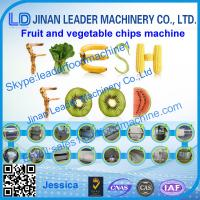 Best Green Vegetable chips process line wholesale