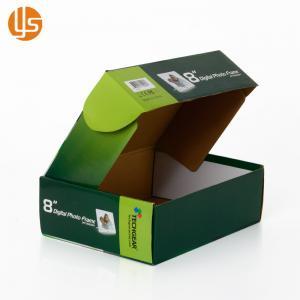 Corrugated Paper Printed Shipping Boxes Custom Size Laminate Finishing