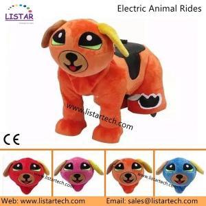 Popular Motorcycle Plush Electrical Animal Toy, Plush Electrical Animal Toy Car for Sale