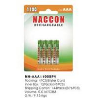 Best Naccon Ni-Mh AAA Rechargeable Battery (Ni-MH AAA1100BP4) wholesale
