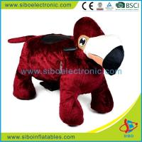 Best Mall Walking Animal Rides Coin Operated Plush Motorcycle Kids Motorized Riding Animals wholesale