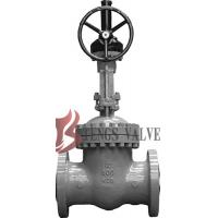 Best API Cast Steel Fully Open Gate Valve Metal Seat Z40H For Oil / Gas Industry wholesale