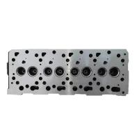 China Diesel cylinder head V1505 for car truck construction machine  material Cast Iron aluminum Kubota cylinder head on sale