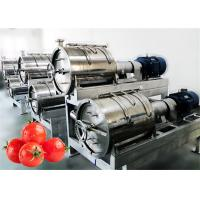 Best Fully Automatic Vegetable Processing Line Customized Capacity Water Saving wholesale