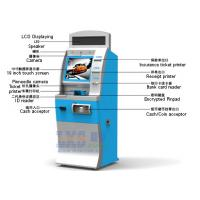 Best License-based Air Tickets Vending Machine LED Displaying On The Top wholesale