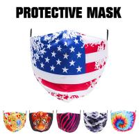 Best Customized printing cotton face mask with PM2.5 filter insert wholesale