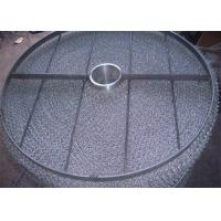 Best Easy Install Wire Mesh Demister Pad 431 Air Liquid Filtration 100-5000mm Diameter wholesale