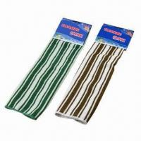 Best Cleaning cloths with stripe pattern, available in various colors, measures 30 x 40cm wholesale