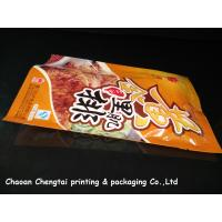 Custom Meat Packaging Retort Pouch / Heat Sealable Pouch Food Grade For Sauce