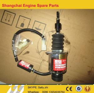C59AL-59AL201+A Solenoid , C6121 Engine parts,  shangchai engine parts in black colour