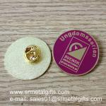 Best Butterfly clasp emblem lapel pin, metal enamel lapel pins, wholesale