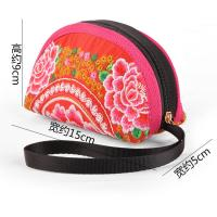 Best woman embroidery Mini coin purse with Chinese traditional style wholesale