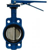 China Wafer type API609 Butterfly Valve 2014W  JIS 10K Lever operator / Gear operator (option) High performance butterfly on sale