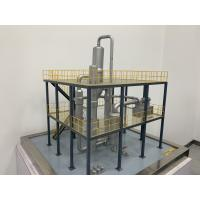 China Industrial MVR Falling Film Vacuum Evaporator / Industry Forced Circulation Evaporator on sale