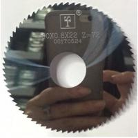 Best KM  Solid carbide slitting cutter circular saw blade for metal cutting wholesale