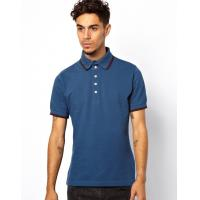 China plain sport polo t shirt for men color combination collar design polo shirts on sale
