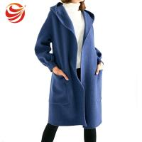 Best Long Style Women'S Ankle Length Winter Coat With Hood And Big Pocket wholesale